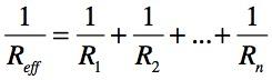 resistor parallel